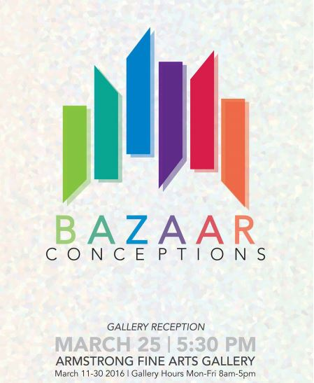 Bazaar Conceptions: The first all graphic design senior exhibition