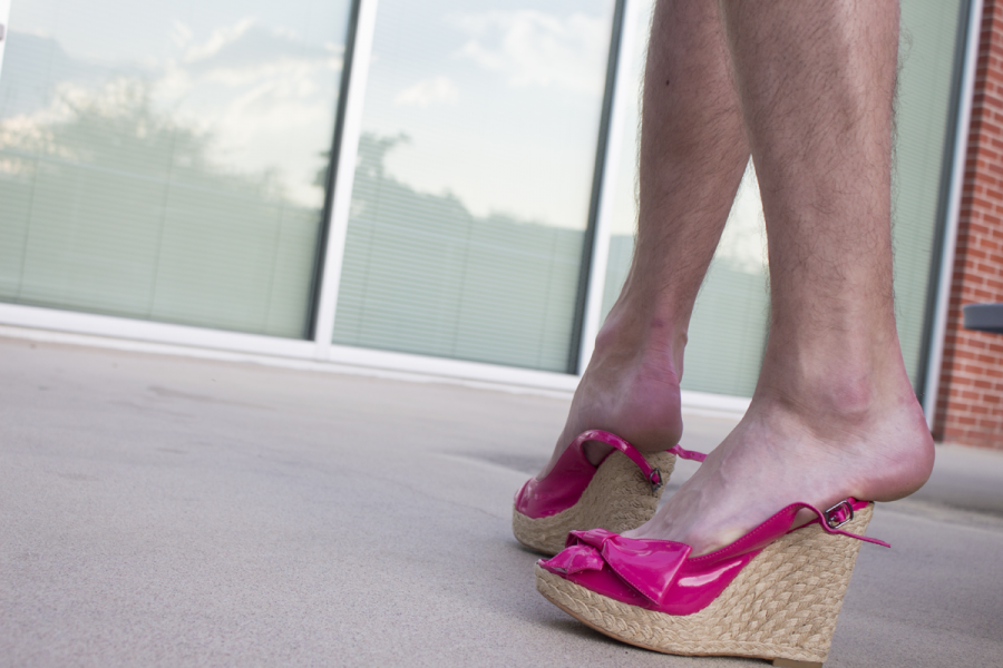 If the shoe fits...Community dons heels for Walk A Mile in Her Shoes