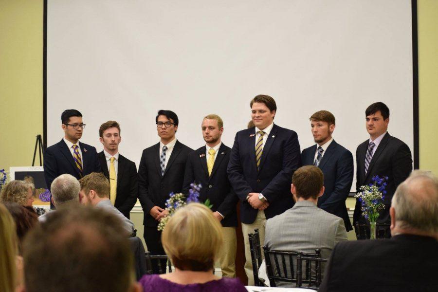 Georgia Rho Chapter of Sigma Alpha Epsilon receives charter