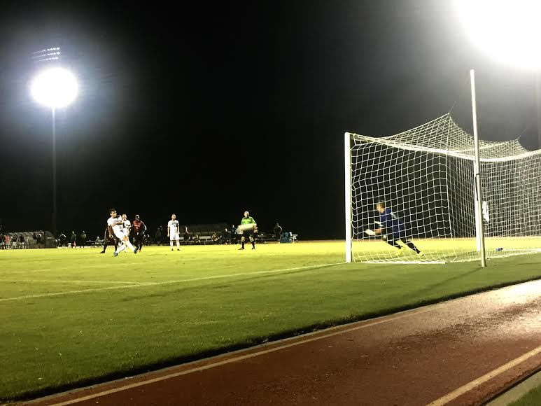 Mens soccer falls to Campbell