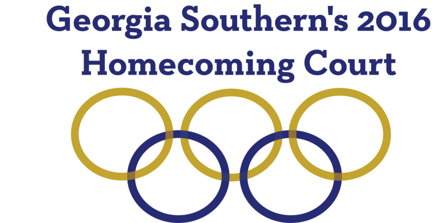 Georgia Southerns 2016 Homecoming Court