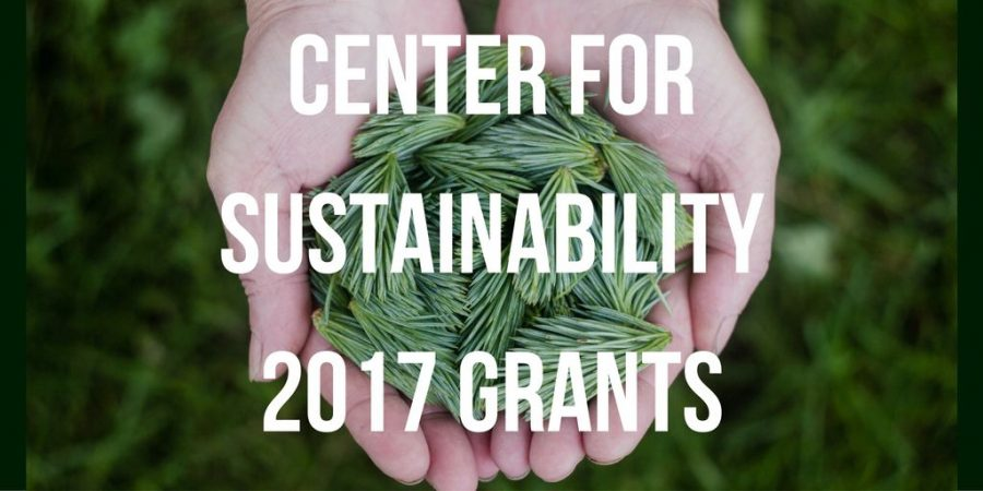 Over $250,000 in grants awarded by Center for Sustainability