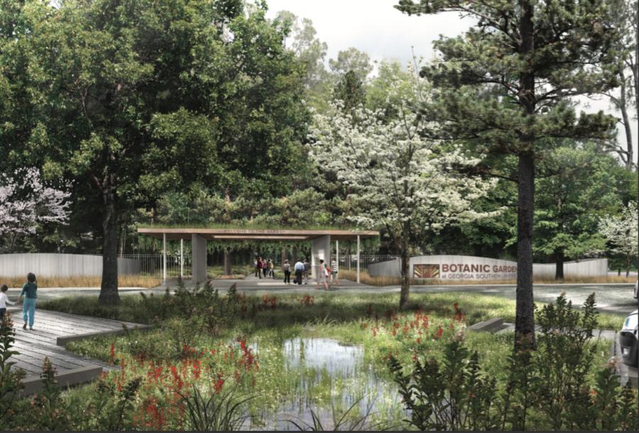 Future+parking+lot+of+the+Botanic+Gardens+at+Georgia+Southern