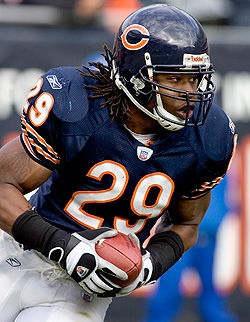 Adrian+Peterson+played+nine+seasons+beginning+in+2002+for+the+Chicago+Bears+and+was+a+member+of+the+team+that+lost+the+2007+Super+Bowl.