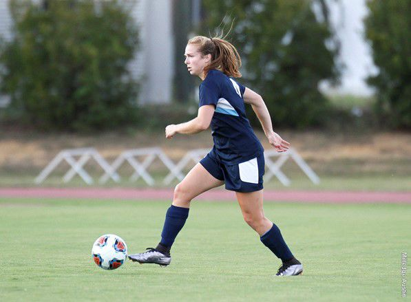 GS senior forward Sarah Price and the women's soccer team have two matches this weekend, against South Alabama and Arkansas State.