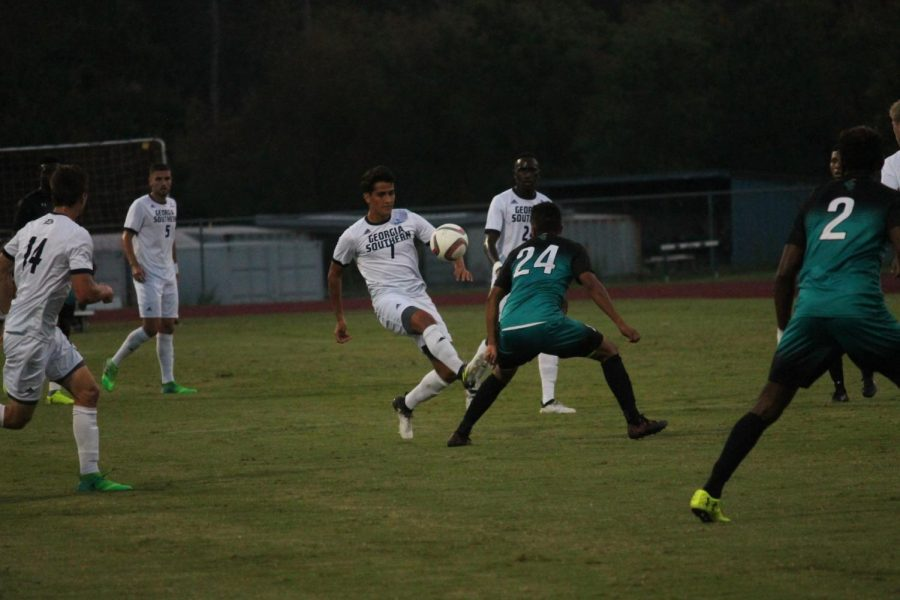 GS+junior+midfielder+Javier+Carbonell+%287%29%2C+in+his+first+season+in+Statesboro%2C+leads+the+Eagles+with+five+assists+after+transferring+from+Camila+Jose+Cela+University+in+Madrid.+Senior+Blake+Wilson+%2814%29+scored+the+game-winner+in+the+last+minute+of+regulation+against+Winthrop+on+Tuesday.