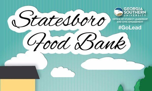 Office of Student Leadership and Community Engagement host weekly Statesboro Food Bank trip