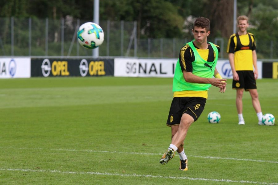 Christian+Pulisic+at+one+of+his+practices+with+Borussia+Dortmound.+Pulisic+was+the+high+point+of+the+U.S.+disappointing+campaing.%C2%A0