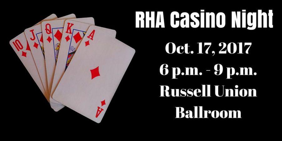 RHA to hold Casino Night at Georgia Southern