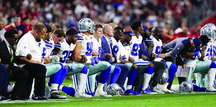 NFL kneeling pic elite daily