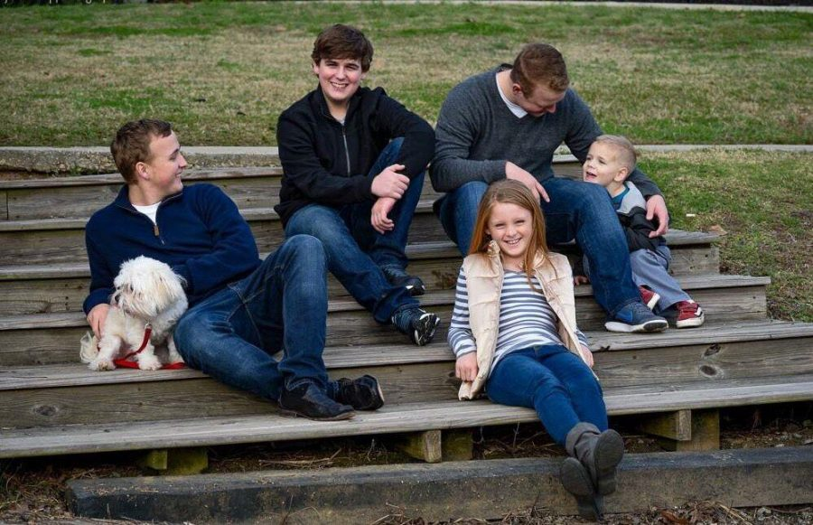 Deacon and Garret had three siblingsWalker (16), Natalie (11) and Ryder (5). photo courtesy of Crystal Johnson.