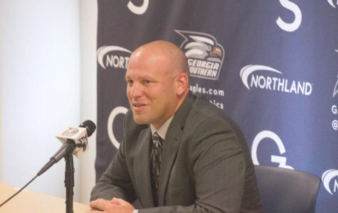 Lunsford was named head coach on Nov. 27, 2017. He is currently 2-4 as head coach of the Eagles.