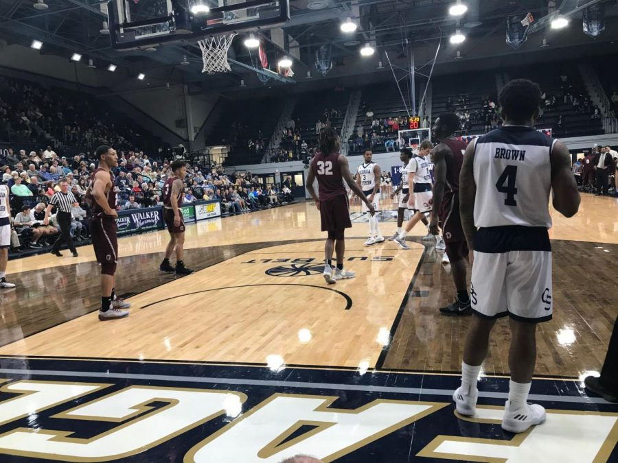 Eagles stay undefeated at home with Brown's buzzer beater three