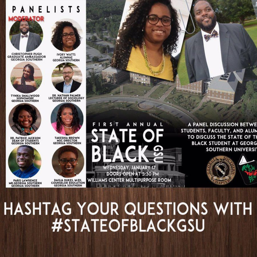 Collegiate 100 will host their first annual State of Black GSU Jan. 17 Courtesy of GSU Collegiate 100
