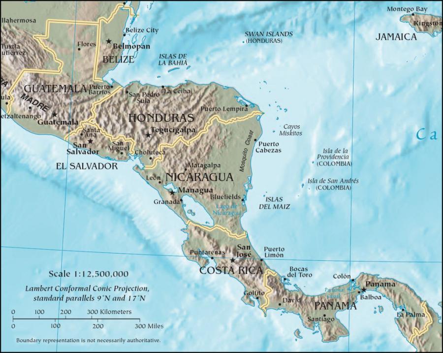 Maria Olivas was born in Nicaragua.