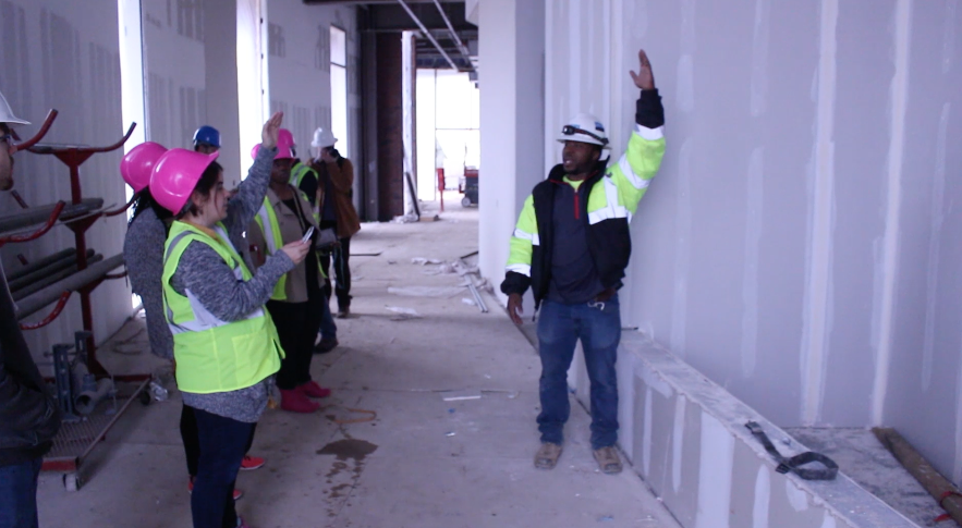 The New Interdisciplinary Academic Building Tour