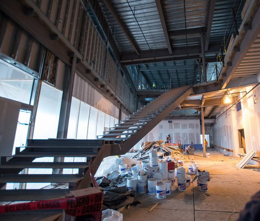 A look inside the new Interdisciplinary Building