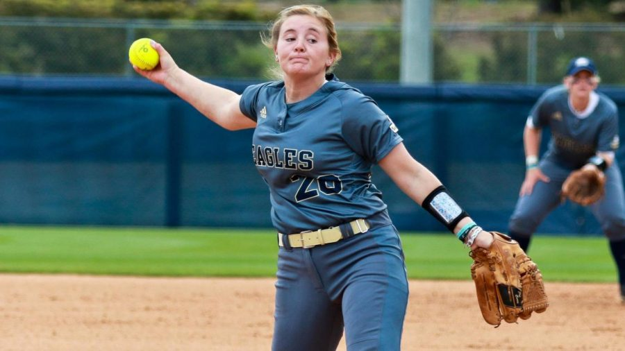 Freshman+pitcher+Rylee+Waldrep+pitched+a+no+hitter+for+six+innings+in+a+game+one+win+over+South+Alabama.%C2%A0