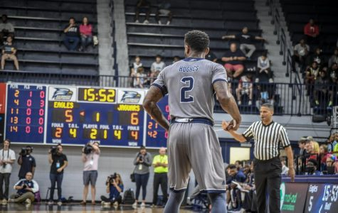 Senior guard Mike Hughes averages 11.5 points per game.