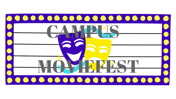 Campus Movie Fest is coming to GS March 20 to March 26Graphic made by Ashton Chrstianson