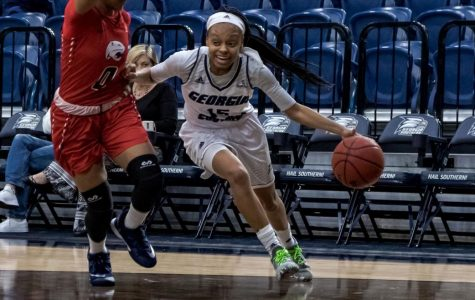 The Eagles return to Hanner Fieldhouse Saturday at 2:00 p.m. as they take on Troy.