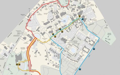 The bus route will begin at Paulson Stadium and drop off at Sweetheart Circle.