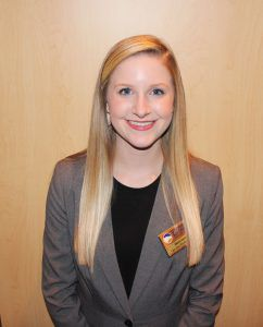 Marcie Joyner is a junior finance major with an emphasis in real estate and is running for SGA President.