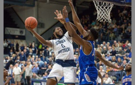 Junior Montae Glenn was second in the nation in offense rebounds.