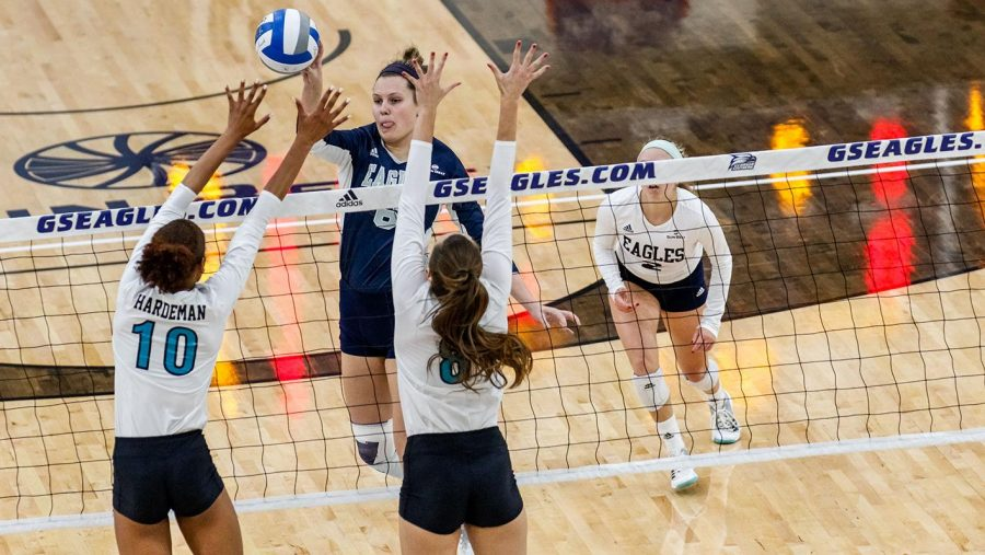 Reichard is just the seventh female Eagle be named to first team All-Sun Belt.
