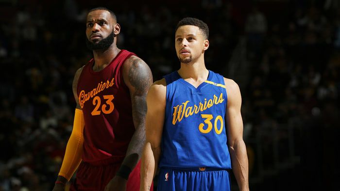 The Cleveland Cavaliers and Golden State Warriors have met in the past three NBA Finals.
