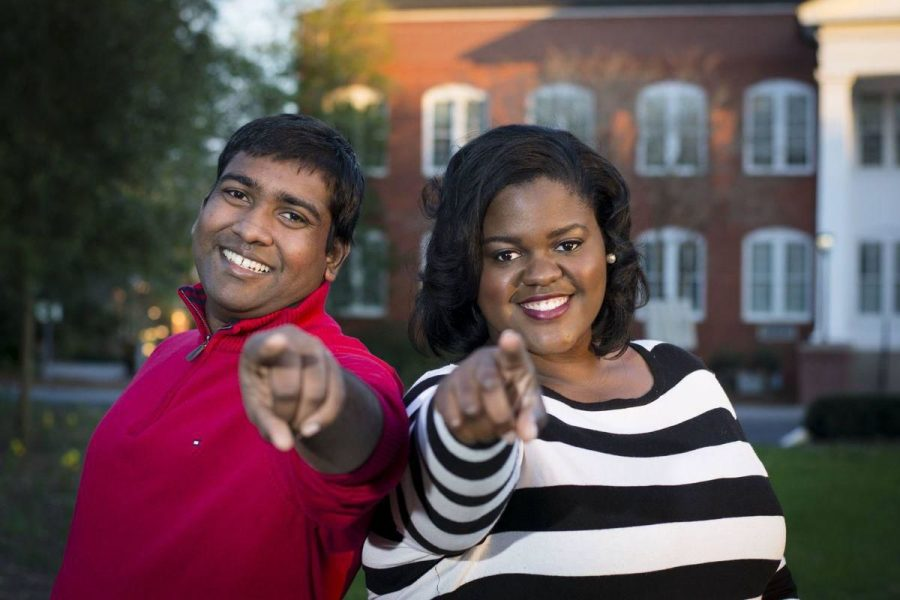 Dylan John and Valencia Warren first ran for SGA president and executive vice president in 2016.