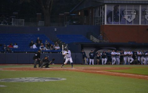 Sophomore shortstop Mitchell Golden had a run and an RBI in Saturday's win over Coastal Carolina.