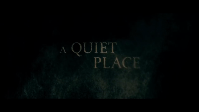 The Inner Circle: A Quiet Place