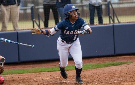 Sophomore Mekhia Freeman scored the lone run in Wednesday's loss to College of Charleston.