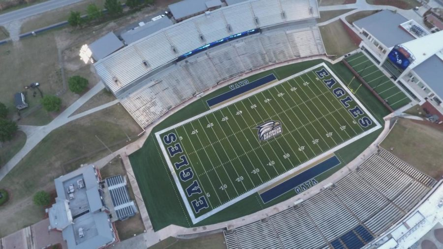 Eagles football fans will have the chance to vote for the next football announcers at the Blue vs. White Spring Football Game.