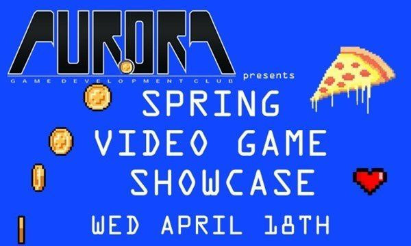 The Aurora Game Development Club will host their video game showcase Wednesday.