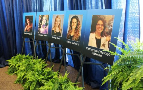 Deal said he decided to sign the bill in Statesboro in memory of the Georgia Southern University nursing students who died in fatal car collision on I-16 by a distracted driver in April 2015. Photo of the victims were displayed at the signing event.