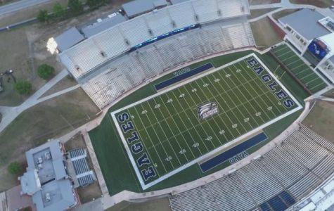 The Eagles' first football game of the season will be tomorrow at 6 p.m. at Allen E. Paulson stadium. Parking will be available at the stadium and the Recreation Activity Center, and buses will start running two and a half hours before kick-off.