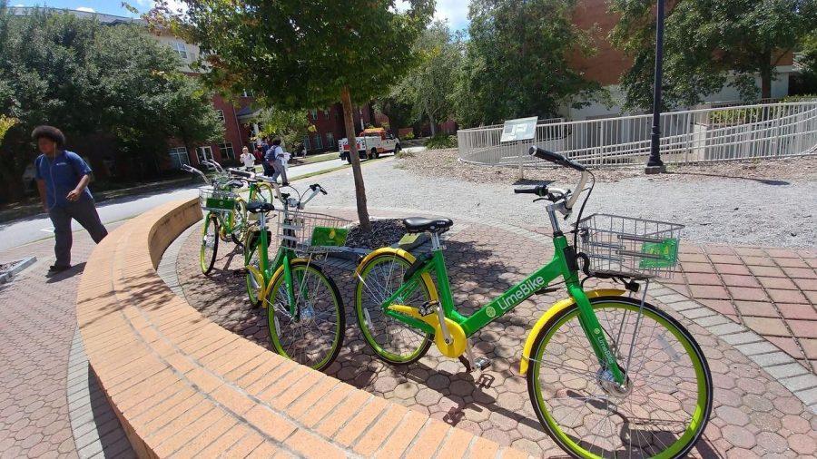 Bike-sharing company rolls into Georgia Southern