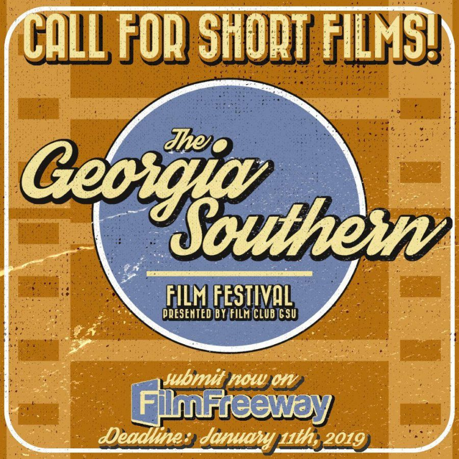 Georgia+Southern+University+Film+Club+will+be+hosting+its+first+student-led%2C+on-campus%2C+competitive+film+festival.%C2%A0The+festival+will+accept+different+styles+of+film+including+documentaries%2C+animated+films%2C+music+videos+and+narrative+films.