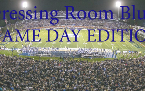 Dressing Room Blues: Game Day Edition!