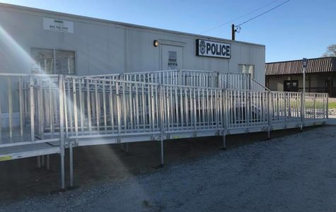 The Statesboro Police Department installed a substation in March next the Allen E. Paulson Stadium. The station is available to students and Statesboro citizens to make reports.