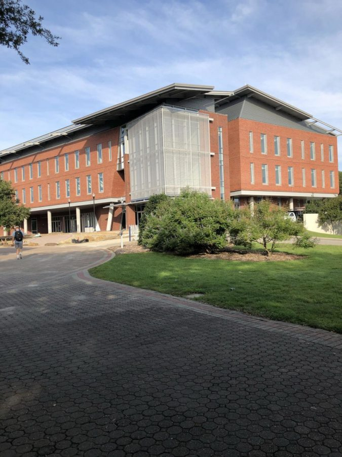 The Interdisciplinary Academic Building was originally set to open by the start of the 2018 fall semester.