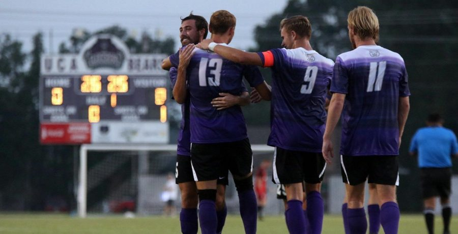 The University of Central Arkansas Bears men's soccer team will join the Sun Belt Conference beginning next season.