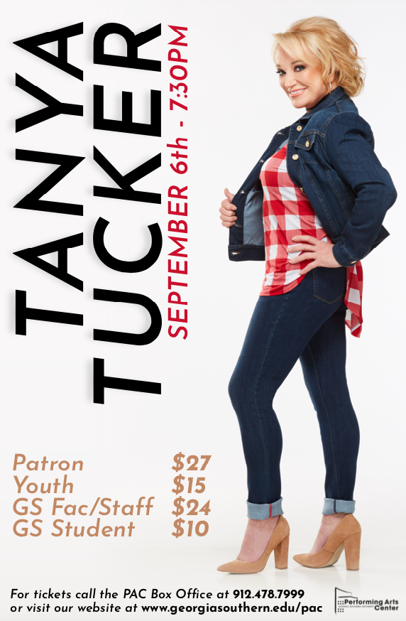 Country music legend Tanya Tucker to perform at PAC