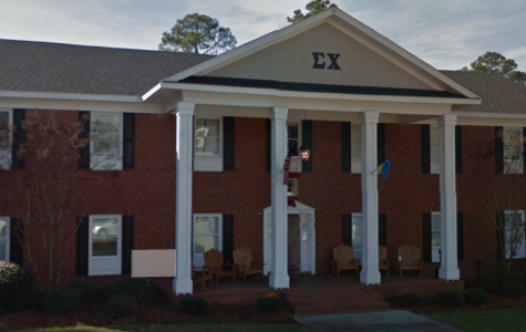 The Statesboro Police Department responded to a call of an injured female at the Sigma Chi house on Olympic Blvd. The injured female was later identified as Kappa Kappa Gamma sorority member Danielle Kolb.