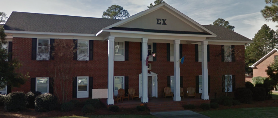 The+Statesboro+Police+Department+responded+to+a+call+of+an+injured+female+at%C2%A0the+Sigma+Chi+house+on+Olympic+Blvd.+The+injured+female+was+later+identified+as+Kappa+Kappa+Gamma%C2%A0sorority+member+Danielle+Kolb.