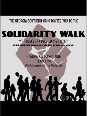 Student organizations to hold solidarity walk Friday in protest of