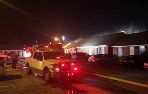 The Statesboro Fire Department responded to a house fire at apartment complex Stadium Walk.Statesboro Fire Chief Tim Grams said the cause of the fire does not appear to be malicious and that no one was hurt.