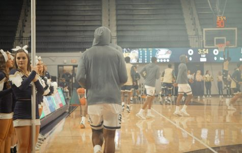The Eagles take the court for their exhibition against the Charleston Southern Buccaneers. Georgia Southern hosts Carver College Tuesday for the first game of the regular season.